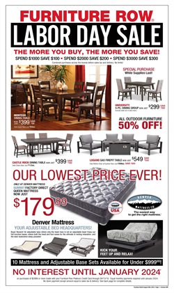 Incroyable Furniture Row Deals In The Louisville KY Weekly Ad