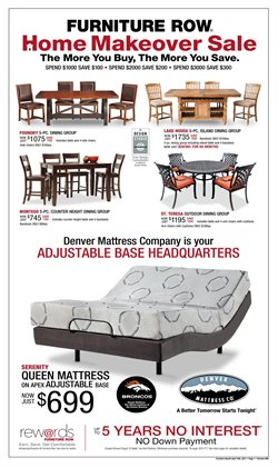 Furniture Row Deals In The Peoria IL Weekly Ad