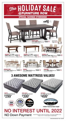Furniture Row Deals In The Wichita KS Weekly Ad