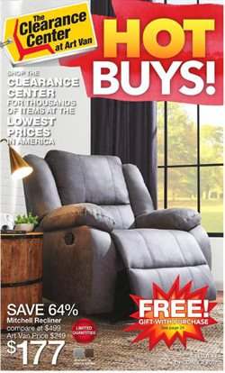 Home & Furniture deals in the Art Van weekly ad in Columbus IN