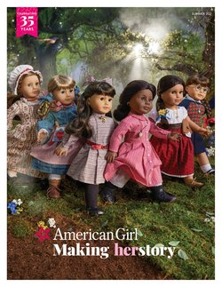 Kids, Toys & Babies deals in the American Girl catalog ( More than a month)