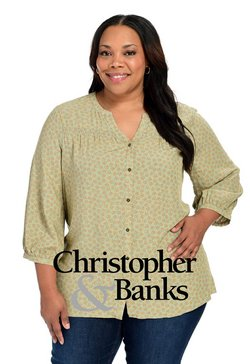 Clothing & Apparel deals in the Christopher and Banks catalog ( Published today)