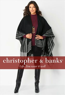 Sales deals in the Christopher and Banks weekly ad in Johnstown PA