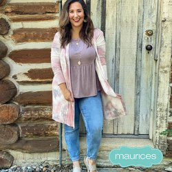 Clothing & Apparel deals in the Maurices catalog ( More than a month)