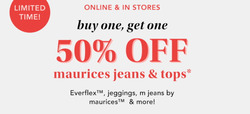 Maurices coupon ( 9 days left )