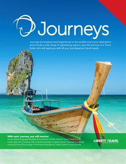 Travel & Leisure deals in the Liberty Travel weekly ad in Flushing NY