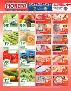Fruit deals in the Pioneer Supermarkets weekly ad in New York