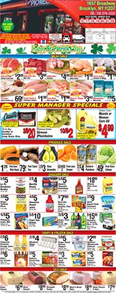 Pillsbury deals in the Pioneer Supermarkets weekly ad in New York