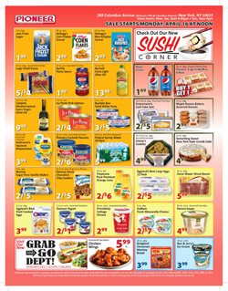 Christmas deals in the Pioneer Supermarkets weekly ad in New York