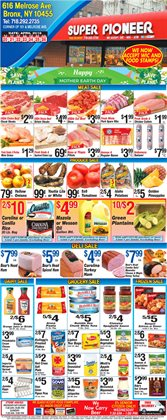 Oil deals in the Pioneer Supermarkets weekly ad in New York