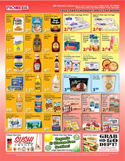 Tissues deals in the Pioneer Supermarkets weekly ad in New York