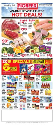 Oranges deals in the Pioneer Supermarkets weekly ad in New York