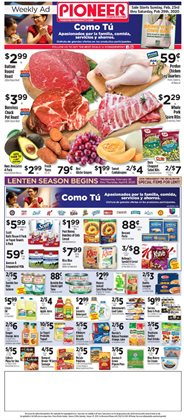Pioneer Supermarkets catalogue in New York ( Expires tomorrow )
