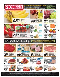 Pioneer Supermarkets catalogue ( Expires tomorrow )