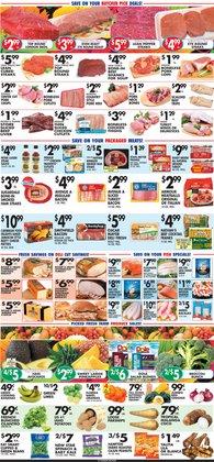 Cooked ham deals in Pioneer Supermarkets