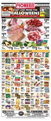 Coca-cola deals in Pioneer Supermarkets