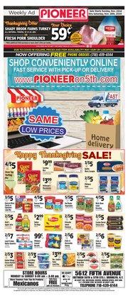Pioneer Supermarkets catalogue ( 2 days ago )