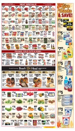 Philadelphia deals in Pioneer Supermarkets