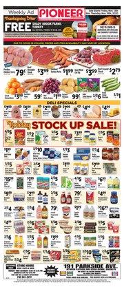 Pioneer Supermarkets catalogue ( 2 days left )