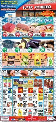 Eggs deals in Pioneer Supermarkets