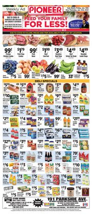 Turkey deals in Pioneer Supermarkets