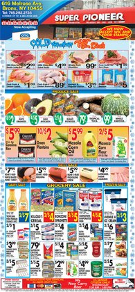 Living room deals in Pioneer Supermarkets