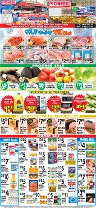 Potatoes deals in Pioneer Supermarkets