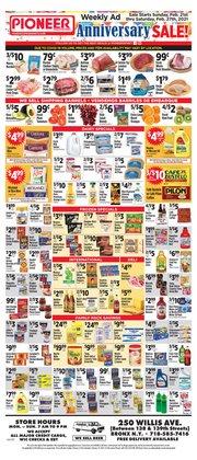 Chicken deals in Pioneer Supermarkets