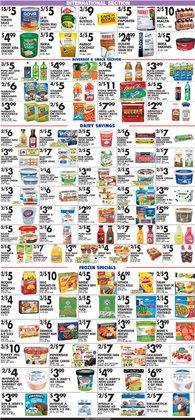 Dr Pepper deals in Pioneer Supermarkets