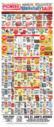 Grocery & Drug offers in the Pioneer Supermarkets catalogue in New York ( Expires tomorrow )