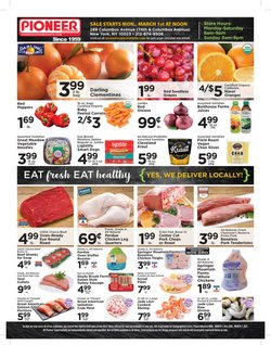 Grocery & Drug offers in the Pioneer Supermarkets catalogue in New York ( 2 days left )