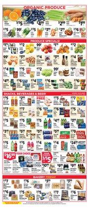 Beer deals in Pioneer Supermarkets