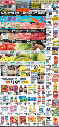 Grocery & Drug deals in the Pioneer Supermarkets catalog ( Expires today)