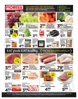 Grocery & Drug deals in the Pioneer Supermarkets catalog ( Published today)