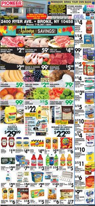 Pioneer Supermarkets deals in the Pioneer Supermarkets catalog ( 2 days left)
