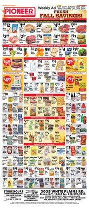 Pioneer Supermarkets deals in the Pioneer Supermarkets catalog ( 4 days left)