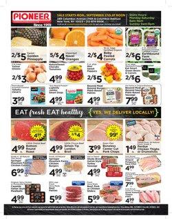 Pioneer Supermarkets deals in the Pioneer Supermarkets catalog ( 1 day ago)