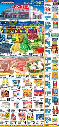 Detergent deals in the Pioneer Supermarkets weekly ad in New York