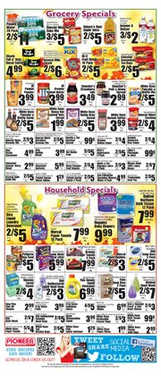 Diapers deals in the Pioneer Supermarkets weekly ad in New York