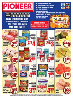 Cheese deals in the Pioneer Supermarkets weekly ad in New York