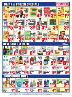 Curtains deals in the Pioneer Supermarkets weekly ad in New York
