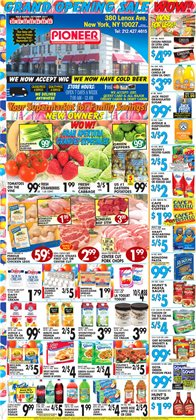 Pioneer Supermarkets deals in the New York weekly ad