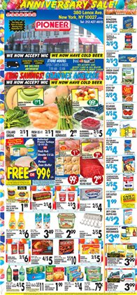 Grocery & Drug deals in the Pioneer Supermarkets weekly ad in New York