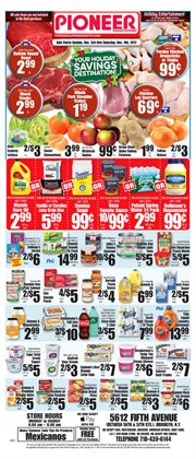Sprite deals in the Pioneer Supermarkets weekly ad in New York
