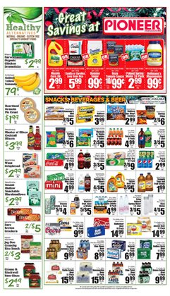 Beer deals in the Pioneer Supermarkets weekly ad in New York