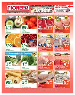 Chicken deals in the Pioneer Supermarkets weekly ad in New York