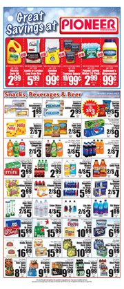 Pepsi deals in the Pioneer Supermarkets weekly ad in New York