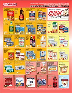 Oreo deals in the Pioneer Supermarkets weekly ad in New York