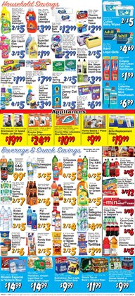 Plates deals in the Trade Fair Supermarket weekly ad in New York
