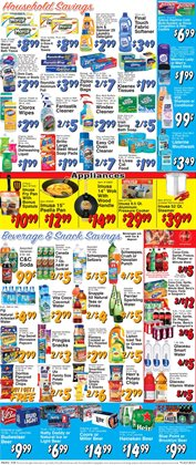 Bleach deals in the Trade Fair Supermarket weekly ad in New York